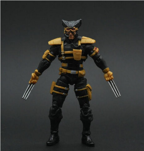 "Wolverine Marvel Origins Action Figure 4"" inches"
