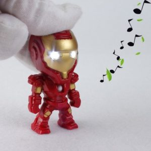 Iron Man Mini Figure Keychain 2.4 Inches