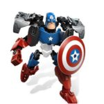 Captain America Building Blocks Figure Marvel 8 Inches