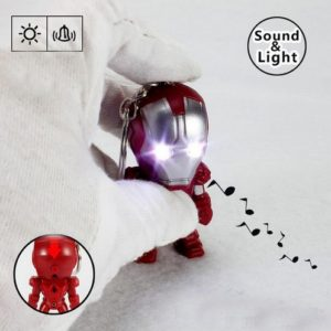 Iron Man Mini Figure Keychain 2.4 Inches 5