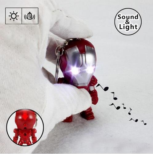 Iron Man Mini Figure Keychain 2.4 Inches 5