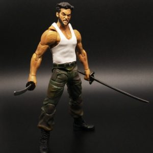 Wolverine Action Figure Marvel Legends Select Logan Tank Top Suite X Men 5