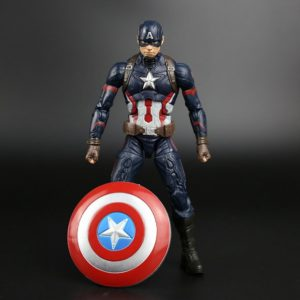 Captain America Winter Soldier Action Figure 6 inches Marvel Legends Collectible
