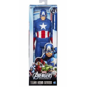 Captain America Marvel Titan Action Figure 12 Inches Avengers 3