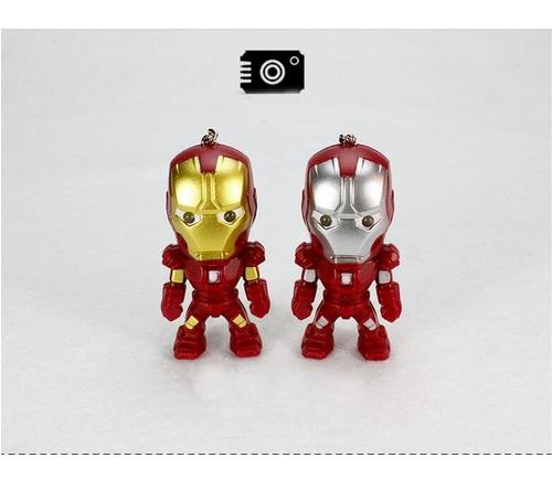 Iron Man Mini Figure Keychain 2.4 Inches 4