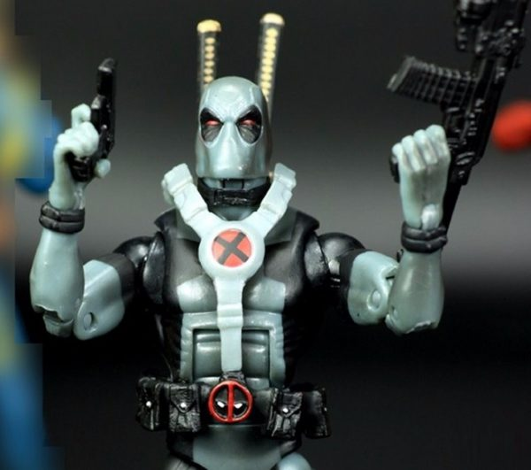 Marvel Legends X Force Silver Deadpool 6 Inches Action Figure Collectible Classic 1