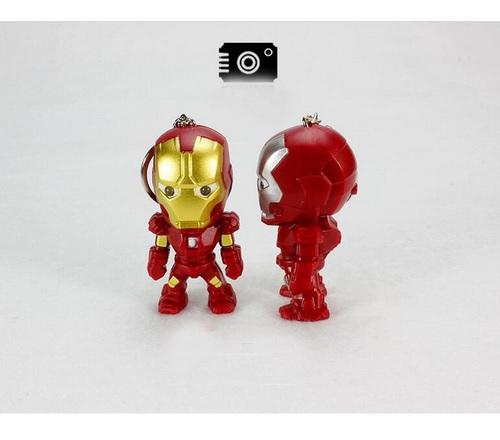 Iron Man Mini Figure Keychain 2.4 Inches 3
