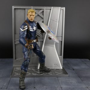 Captain America Action Figure Winter Soldier Destroyed Shield Edition 7 Inches 3