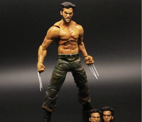 Wolverine Action Figure Marvel Legends Select Logan Tank Top Suite X Men 2