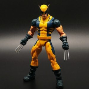 Wolverine Action Figure Marvel Legends Yellow Classic Suit X Men Universe Series