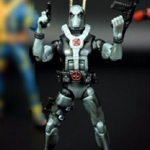 Marvel Legends X Force Silver Deadpool 6 Inches Action Figure Collectible Classic