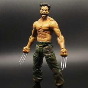 Wolverine Action Figure Marvel Legends Select Logan Tank Top Suite X Men