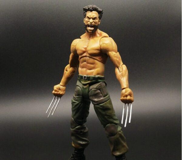 Wolverine Action Figure Marvel Legends Select Logan Tank Top Suite X Men