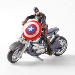 Avengers Edition Captain America Motorcycle Action Figure Collectible