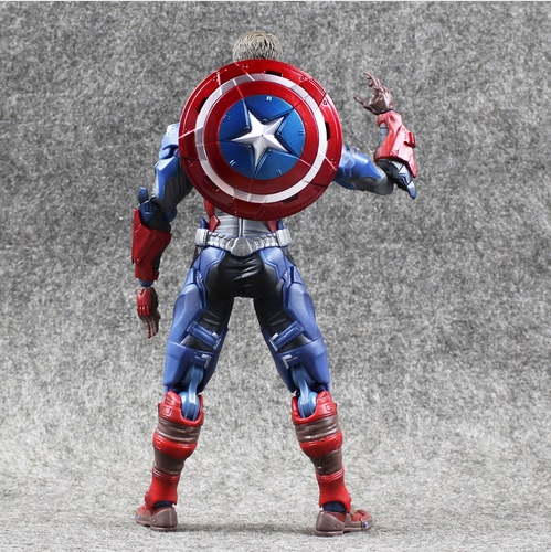 Captain America Civil War Comicon Collectible Action Figure 6 Inches 5