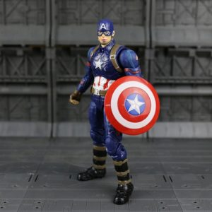 Captain America Action Figure Marvel Avengers Civil War 7 Inches