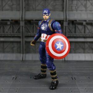 Captain America Action Figure Marvel Avengers Civil War 7 Inches