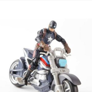 Avengers Edition Captain America Motorcycle Action Figure Collectible 4