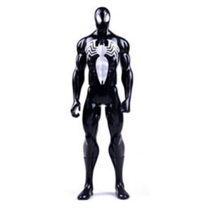 Spider Man Black Suit Marvel Titan Action Figure 12 Inches 2