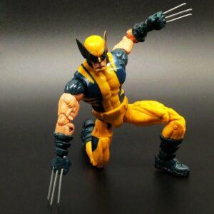 Wolverine Action Figure Marvel Legends Yellow Classic Suit X Men Universe Series 2