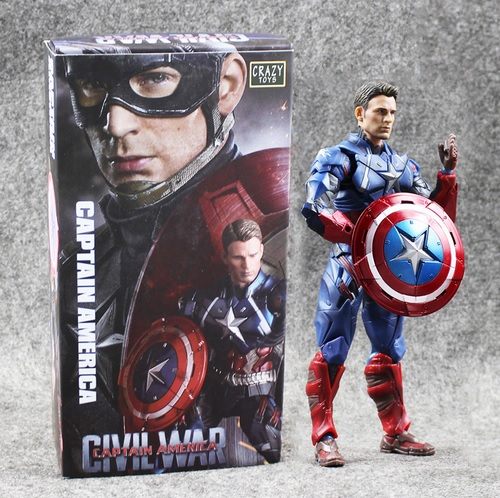 Captain America Civil War Comicon Collectible Action Figure 6 Inches 4