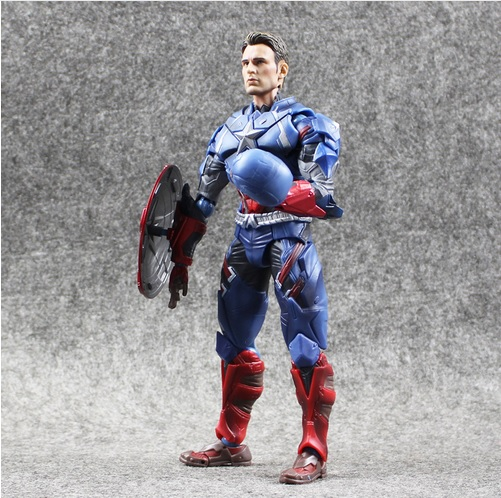 Captain America Civil War Comicon Collectible Action Figure 6 Inches 3