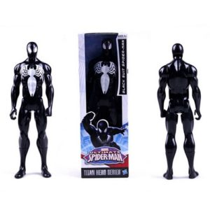 Spider Man Black Suit Marvel Titan Action Figure 12 Inches