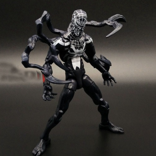 superior venom action figure 6 inches spider man classic