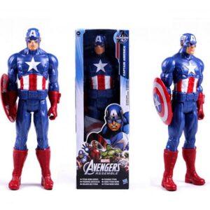 Captain America Marvel Titan Action Figure 12 Inches Avengers