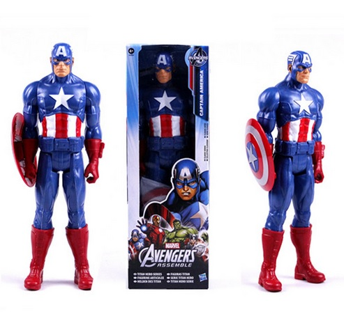 Captain America Marvel Titan Action Figure 12 Inches Avengers
