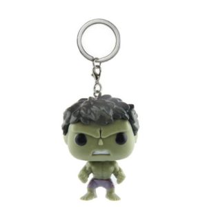 Hulk Mini Figure Keychain 1.5 Inches
