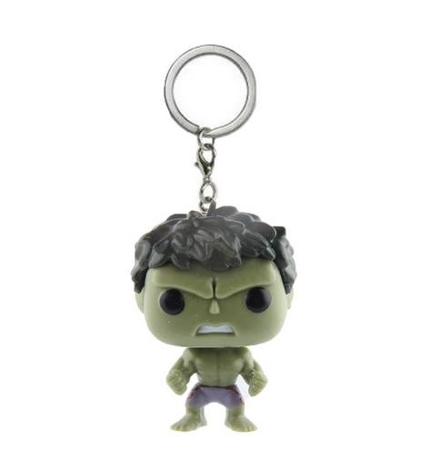 Hulk Mini Figure Keychain 1.5 Inches