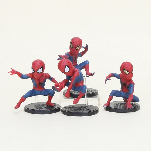 The Amazing Spider Man Mini Action Figures Statues The Lizard Electro 3 inches 5