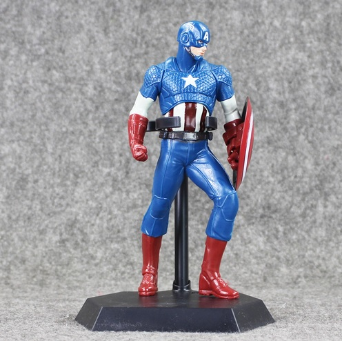 Captain America Action Figure Marvel Statues PVC 8 Inches