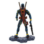 Deadpool Action Figure Blue and Yellow Suit X Men Comics Collectible 6 Inches 3