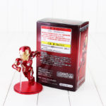 12cm Captain America Civil War Captain America Iron Man MK46 PVC Action Figure Toys Doll Birthday Gift For Kids 1