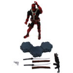 Deadpool Action Figure Marvel Comics Collectible 6 Inches 4