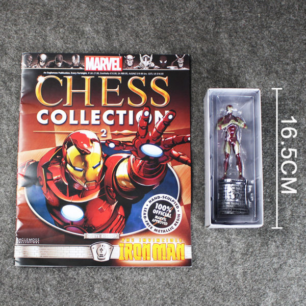 6″ 14cm Anime Iron Man Action Figures PVC Model Toys Dolls Great Gifts New In Box For Boys Girls 5