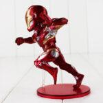 12cm Captain America Civil War Captain America Iron Man MK46 PVC Action Figure Toys Doll Birthday Gift For Kids 5