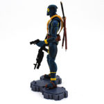 Deadpool Action Figure Blue and Yellow Suit X Men Comics Collectible 6 Inches 2