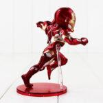 12cm Captain America Civil War Captain America Iron Man MK46 PVC Action Figure Toys Doll Birthday Gift For Kids 3