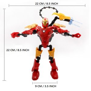 Iron Man Building Blocks Figure Marvel 8 Inches 8