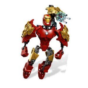 Iron Man Building Blocks Figure Marvel 8 Inches 2