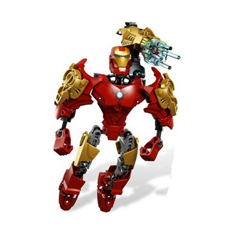 Iron Man Building Blocks Figure Marvel 8 Inches 2