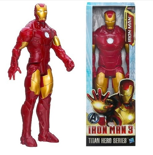 Iron Man Marvel Titan Action Figure 12 Inches Avengers 3