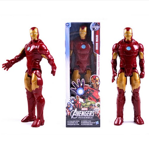 Iron Man Marvel Titan Action Figure 12 Inches Avengers