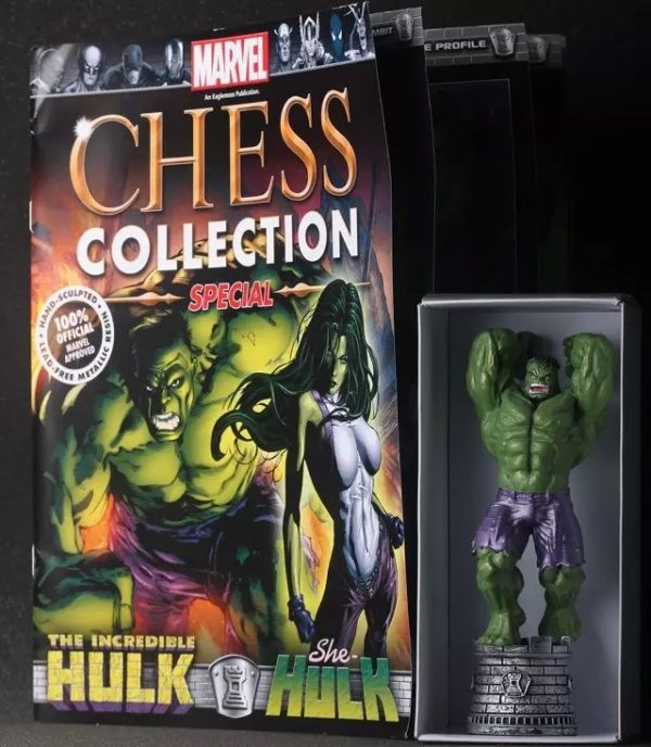 Marvel Chess Hulk Super Heroes PVC Action Figure Toys Collectible Model 6″14cm  KT1347 2