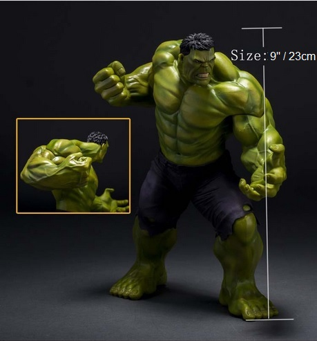 Hulk Action Figure Marvel Statues PVC 9 Inches