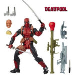 Deadpool Action Figure Chimichanga Marvel Legends X Men Juggernaut Series 6 Inches 5
