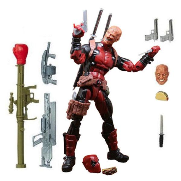 Deadpool Action Figure Chimichanga Marvel Legends X Men Juggernaut Series 6 Inches 1
